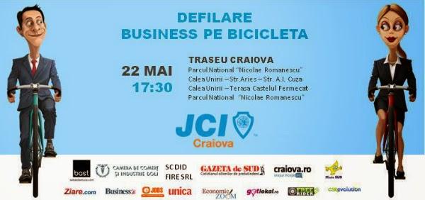 Hai cu bicicleta prin Craiova!