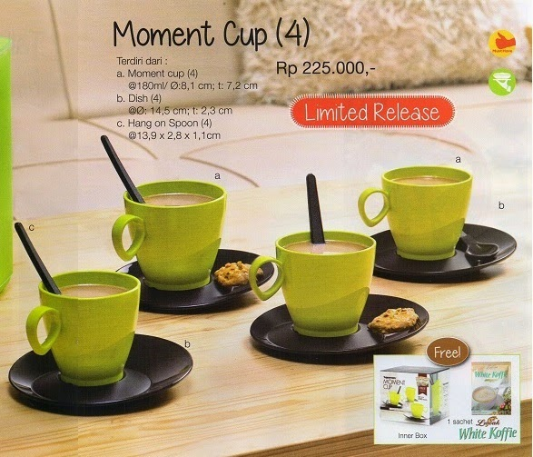 Moment Cup Tupperware