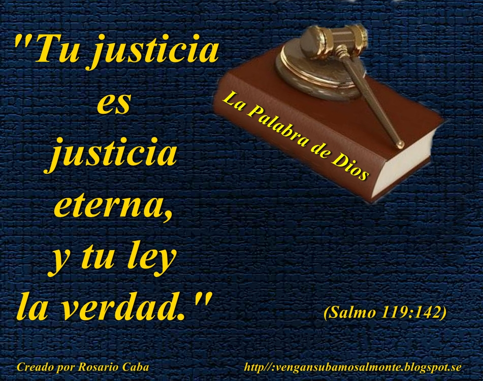 Resultado de imagen para SALMO 119:142