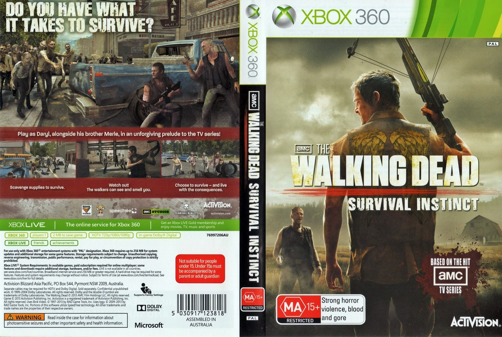 the walking dead survival instinct wii u download