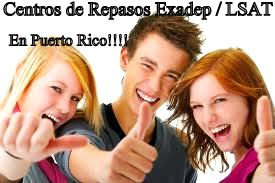 Centros de Repasos a estudios sub graduados Exadep/ LSAT en Puerto Rico