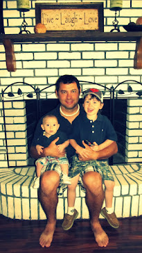 Daddy with our little guys!