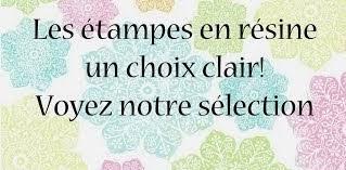 Les étampes en résine... un choix clair!!!