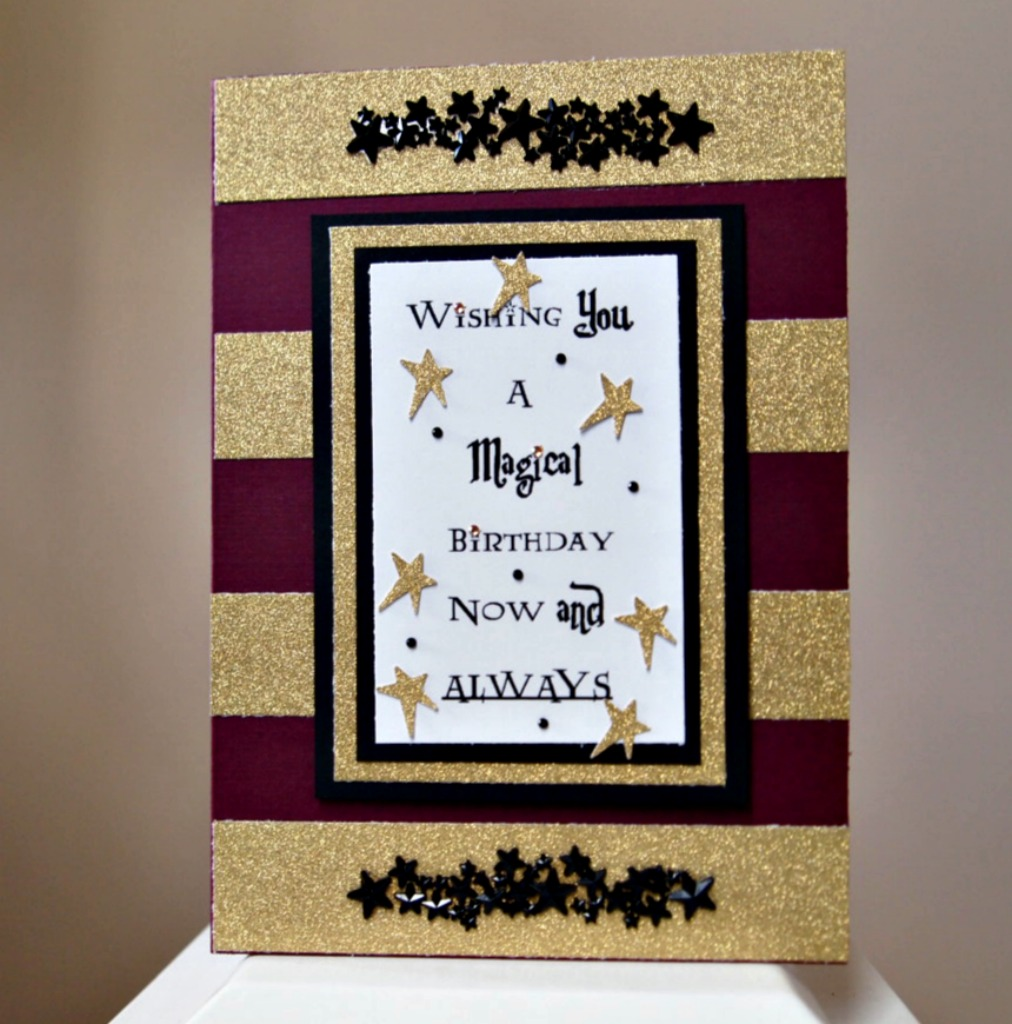 The Answer Is Chocolate Harry Potter Birthday Card