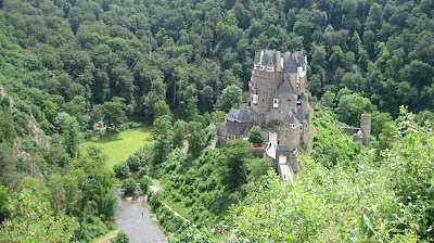 Burg Eltz Castle and the nearby landscape