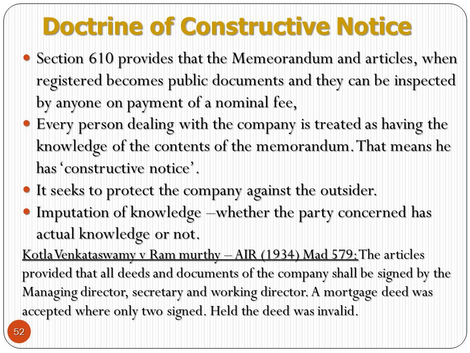company contracts and doctrine of ultra vires