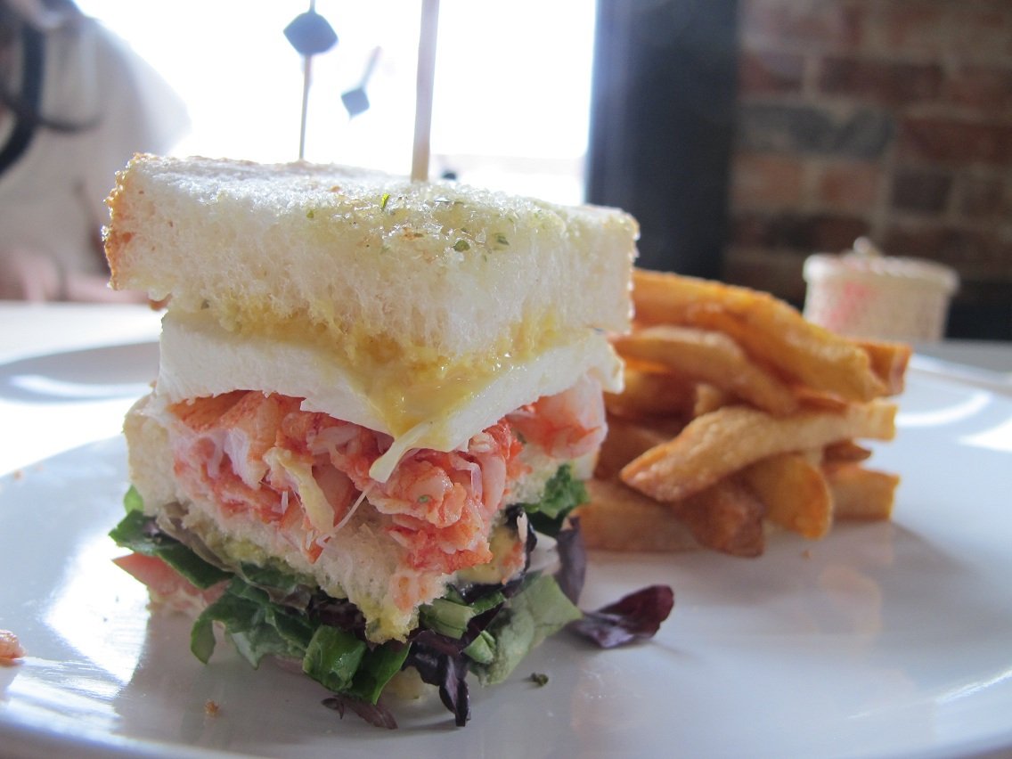 Lobster Club Sandwich Recipes — Dishmaps