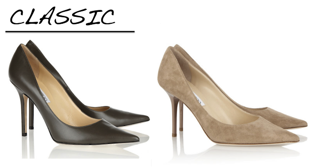 pointed toe pump, jimmy choo,