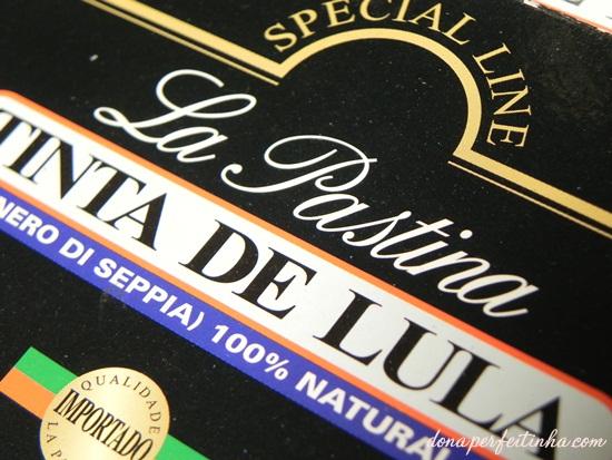 Tinta de lula: ingrediente especial