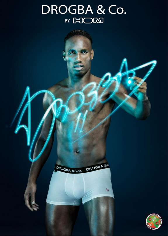 Didier Drogba to launch underwear range for charity