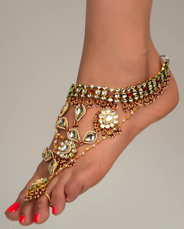 New Fashion In Latest Payal Design 2014