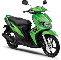 Gambar Motor Yamaha Mio Soul GT Hijau (Lighting Green)
