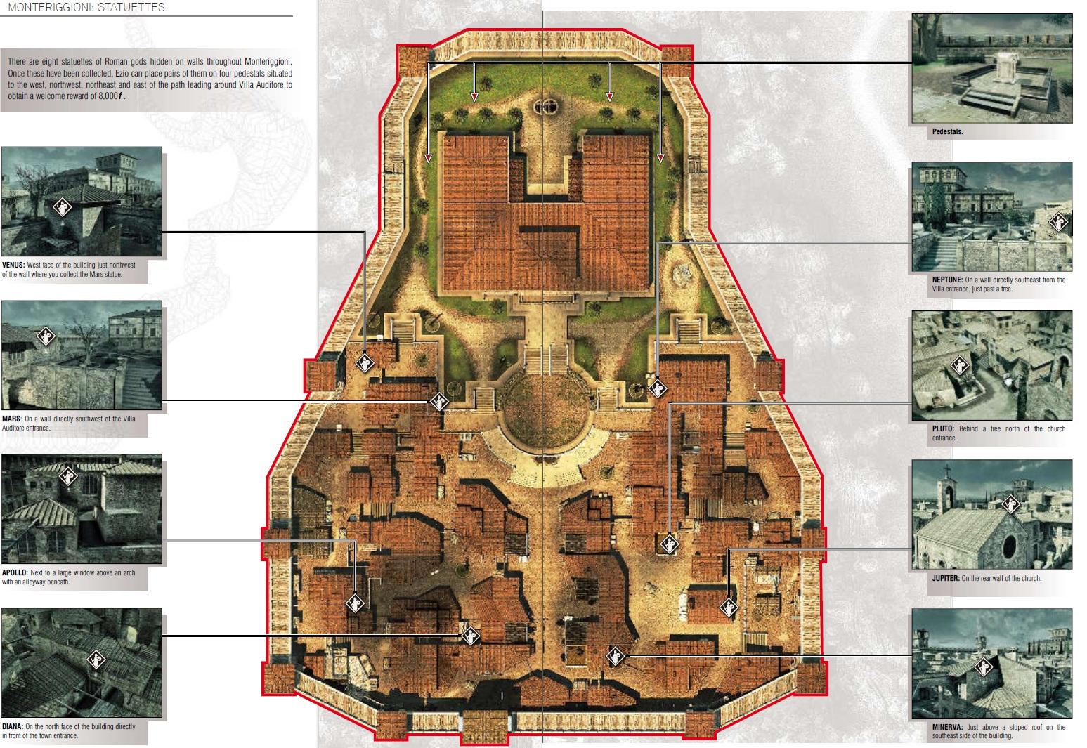 Mapas De Farmeo Assassin S Creed 2 Atalayas Y C 243 Dices