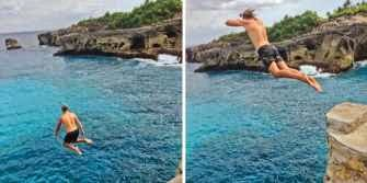 Lokasi Cliff Jumping