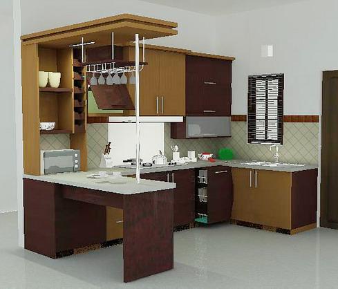 Dapur Minimalis Cantik on Desain Dapur Cantik Yang Minimalis   Naura Syafiqa
