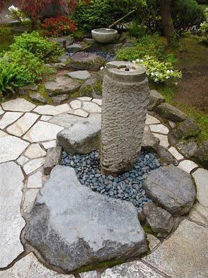 Urban landscape native landscape portland japanese garden for Garden fountains portland oregon