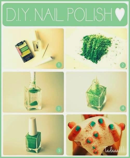 Green Nail Design Tutorial