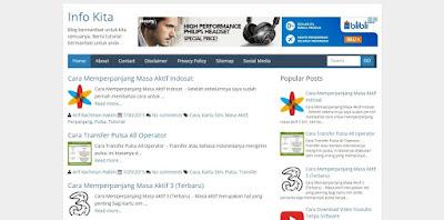 template blogger seo friendly responsive & fast loading terbaik 2015 gratis & Pramium