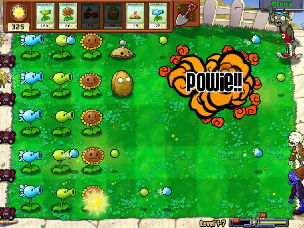 Labim plant vs zombie for Plante vs zombie