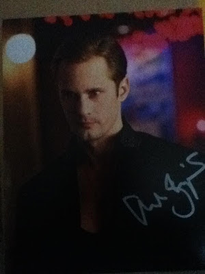 Alexander Skarsgard Autograph @ northmans Party Vamps