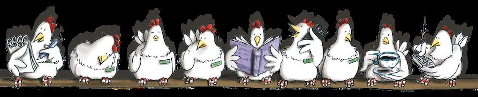 Comic, Cartoon, Kinderbuch, Geschenkbuch, Coppenrath Verlag, Hühner auf der Stange, Hennen Kommoss, Hennen, Comic