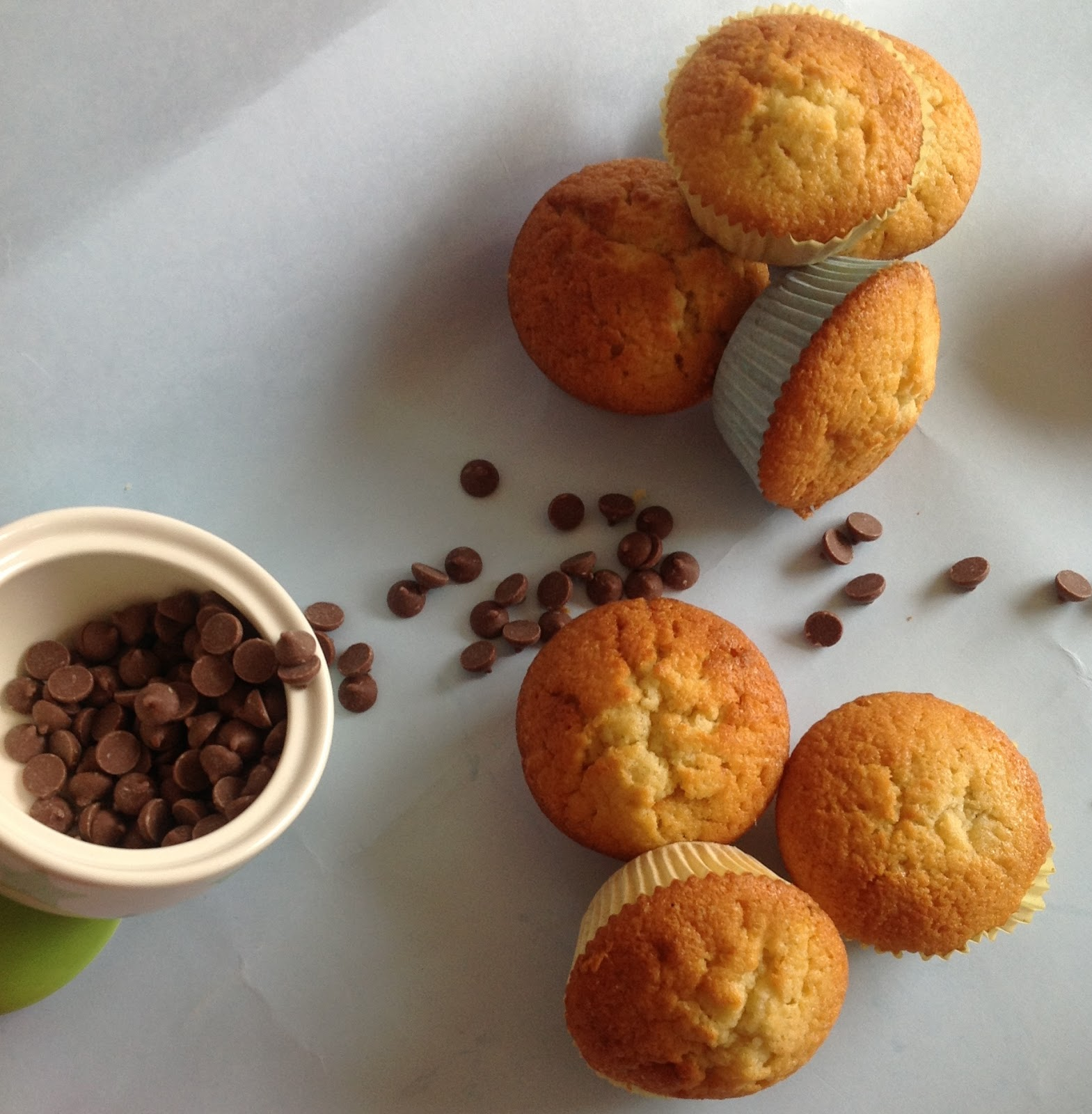 Encourage Spice: Orange & Chocolate chip Muffin