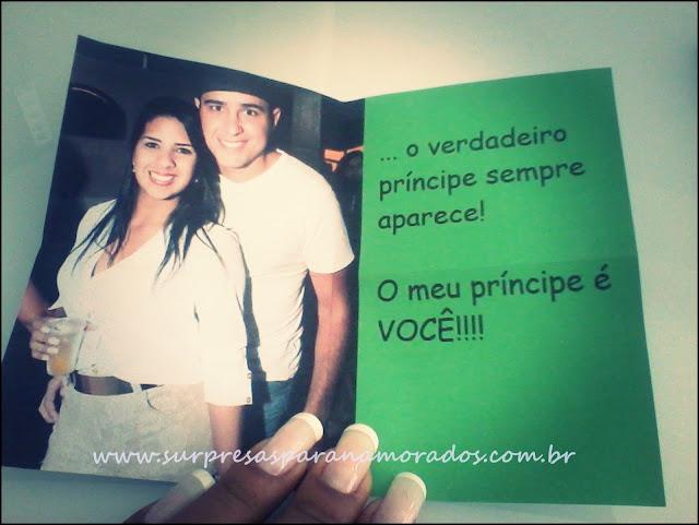 cartão meu príncipe é você