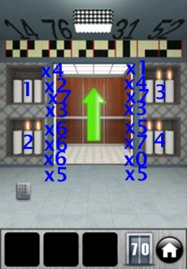 Solutions 100 Doors 2013 Level 66 67 68 69 70
