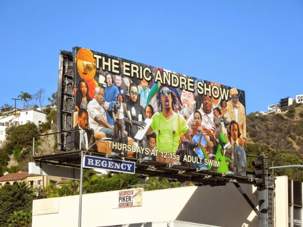 Eric Andre Show season 3 billboard