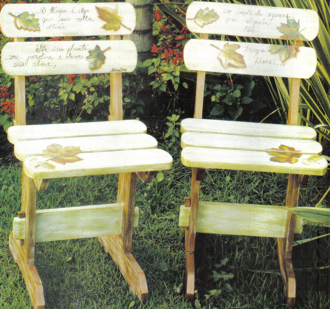 de jardim fazer:para fazer você vai precisar dos materiais banco de  #978F34 1123x1054