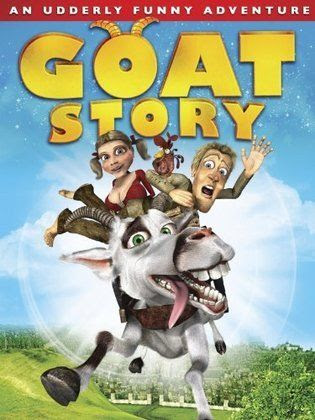 Poster Of Goat Story with Cheese In Dual Audio Hindi English 300MB Compressed Small Size Pc Movie Free Download Only At worldfree4u.com