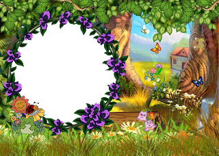 Imagens Molduras E Convites Jardim Encantado