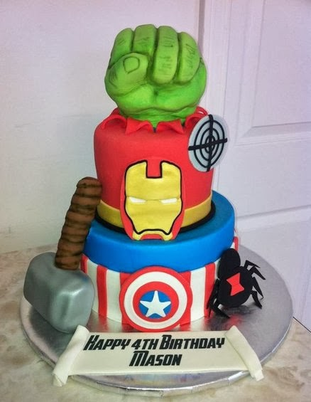 Sweet Mischief Ja Cake Ideas: Avengers theme cakes and cupcakes