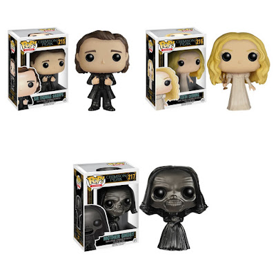 Crimson Peak Pop! Movies Vinyl Figures by Funko - Sir Thomas Sharpe, Edith Cushing & Mother Ghost