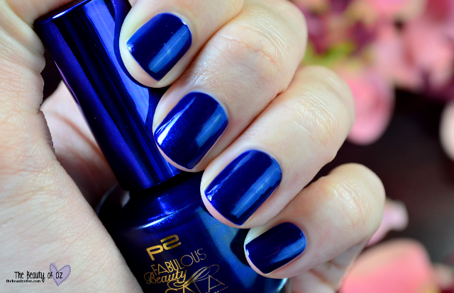 p2 Fabulous Beauty Gala Nagellack DESIRABLE BLUE