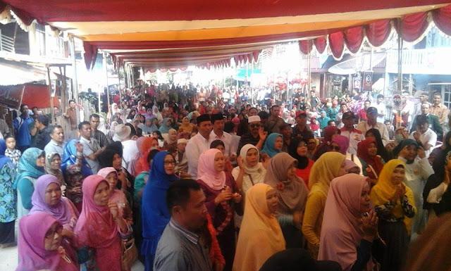 Luar Biasa, Ribuan Massa Hadiri Kampanye Fesbuker di Sungai Penuh