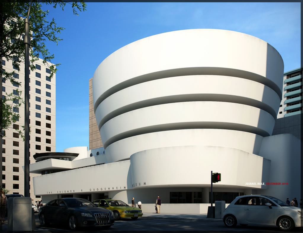 Art Now And Then: The Guggenheim--New York