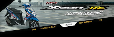 Info Harga dan Spesifikasi Yamaha New XEON RC 2013