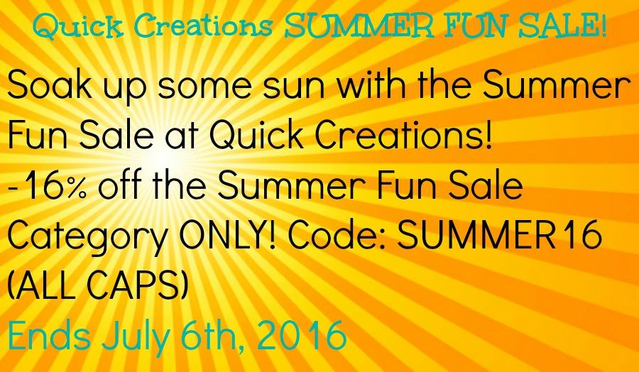 Summer Sale-Quick Creations