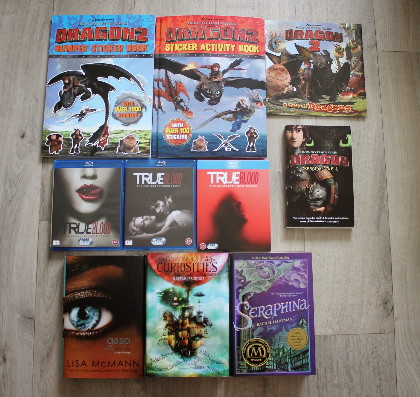how to train your dragon book set paperback