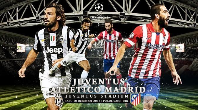 Juventus vs Atlético Madrid Liga Champions 2014-2015