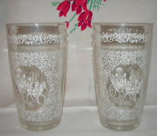 Hazel Atlas drinking glass tumbler