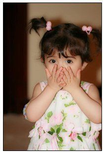 beautiful baby with cute expression