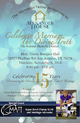 November 6, 2014: Celebrate Marriage: The Divine Truth in San Antonio, Texas