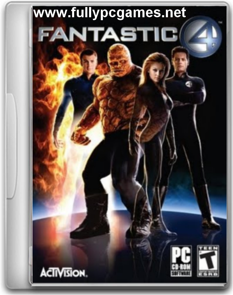fantastic four pc game download rar