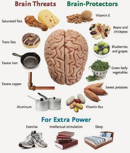 10 Best Foods & Supplements for Brain Health