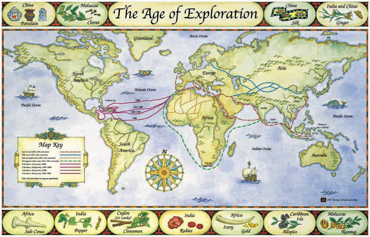 Fakultet British Empire The age of exploration 15th and 16th