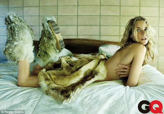 Diane Kruger is Furry and Hot For GQ