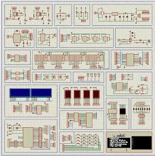 Get 8051 Development board Proteus Simulator