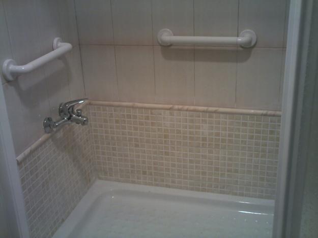 M p instalaciones platos de ducha antideslizantes en for Duchas sin plato